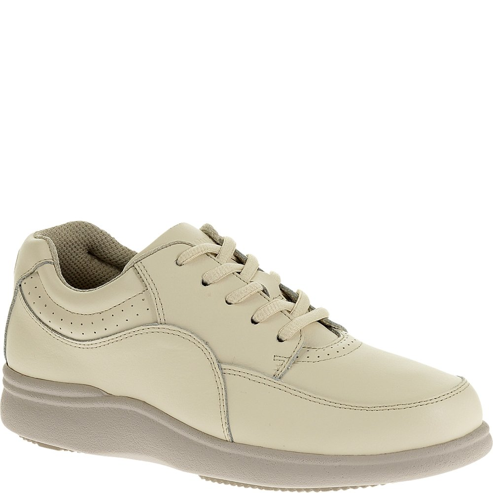 Hush Puppies Women's Power Walker Sneaker B00FJ9A7N2 6.5 B(M) US|Birch Leather