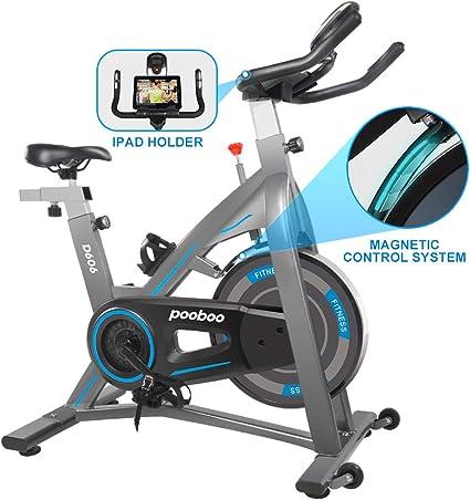 L Now - Bicicleta estática de ciclismo para interior, silenciosa y ...