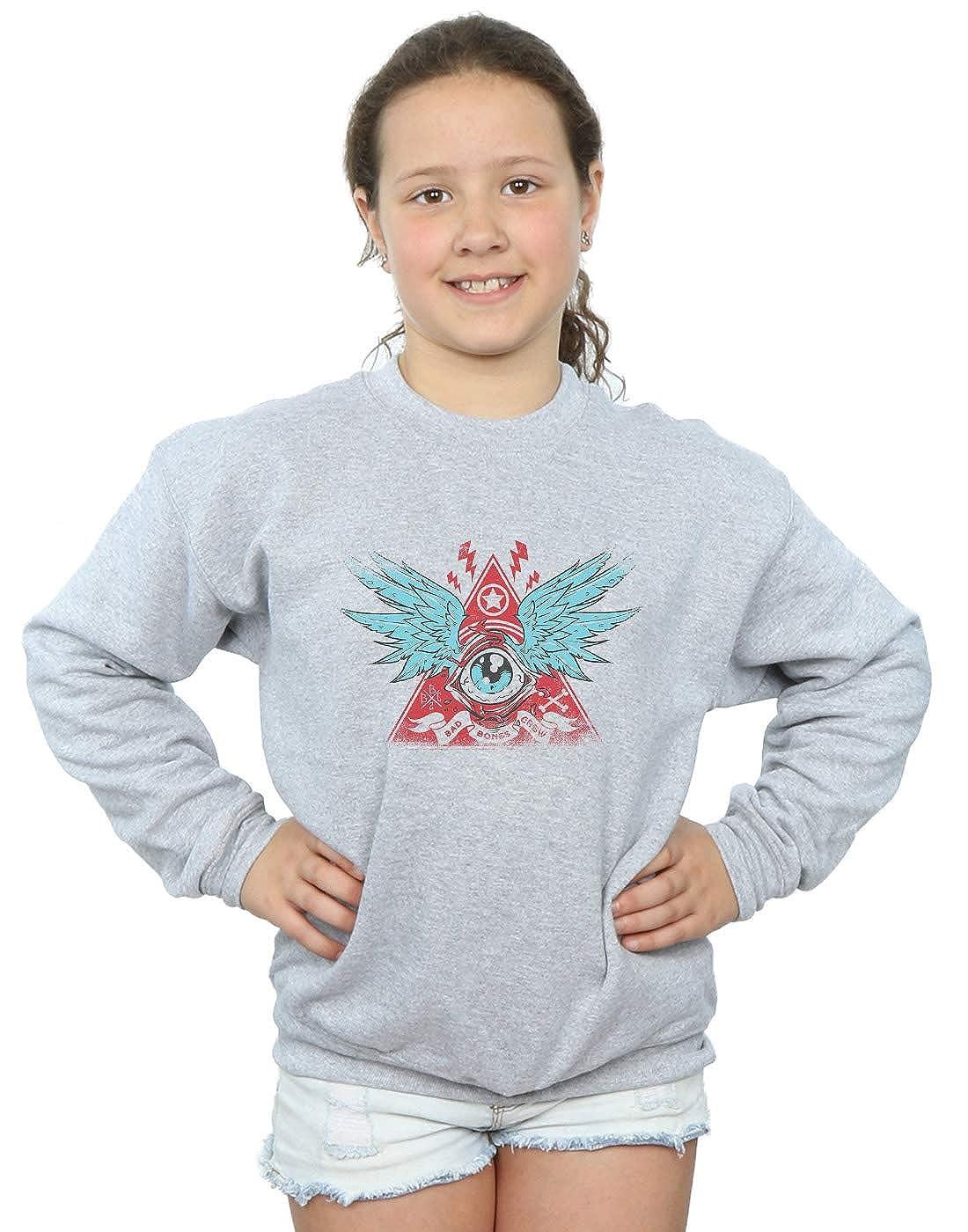 Drewbacca Girls Pyramid Eye Sweatshirt