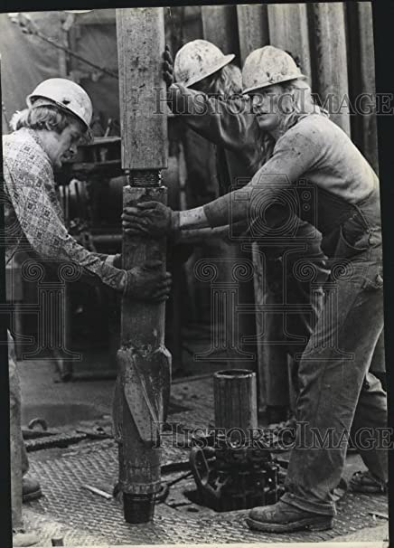 Amazon com: Vintage Photos 1979 Press Photo Mobil Oil Corp  Workers