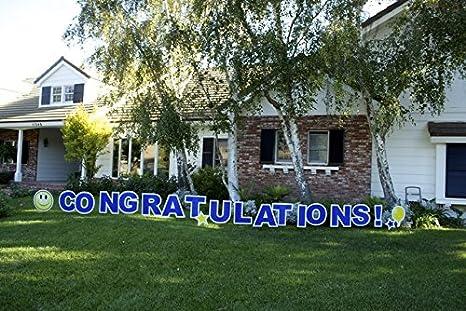 amazon com congratulations outdoor announcement decoration card