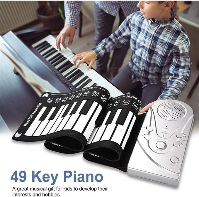 Rock and Roll it 49 Teclas enrollables Piano Niños Piano ...