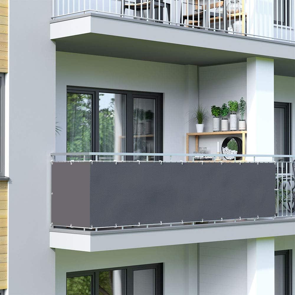 Amazon De Jarolift Balkonbespannung Wasserabweisend Balkon