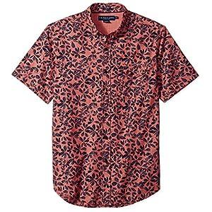 U.S. Polo Assn. Men's Short Sleeve Slim Fit Fancy Shirt