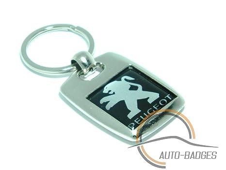Auto-badges - Llavero metálico con diseño de logotipo de ...