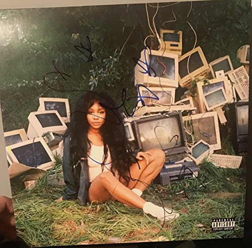 SZA signed CTRL 12″ lp GREEN COLORED VINYL