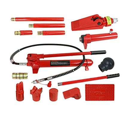 Amazon.com: TG888 Power Hydraulic Jack Body Porta Frame Repair Kit ...