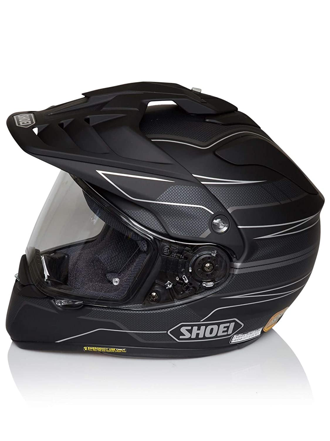 Amazon.es: Casco Enduro Mx Shoei Hornet Adv Navigate Tc-5 Negro Matt (S, Negro)