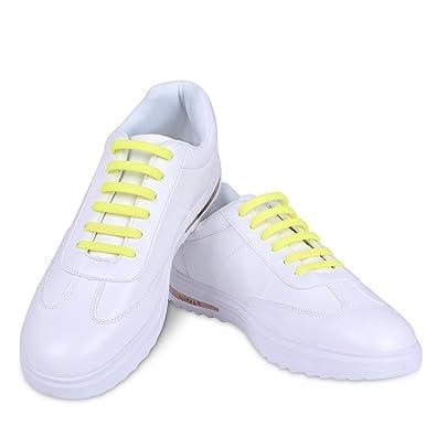 E Laces , Lacci per scarpe, giallo: Amazon.it: Scarpe e borse