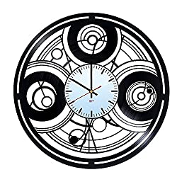 Doctor Who HANDMADE Vinyl Record Wall Clock - Get unique home room home decor - Gift ideas for men, teens - Unique Adventure Film Art Design - Leave us a feedback and win your custom clock