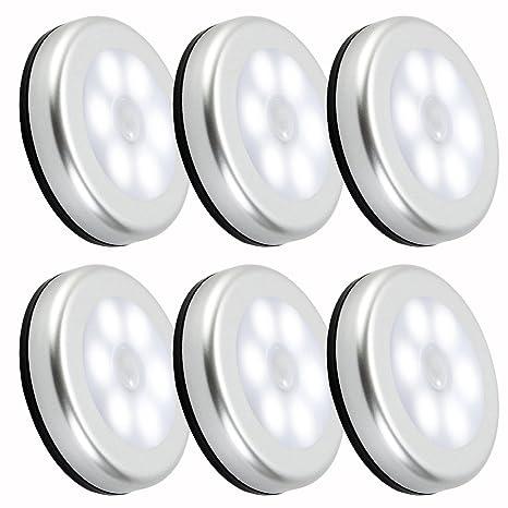 luz nocturna con sensor de movimiento LED Funciona con pilas Auto un/adhesiva de 3