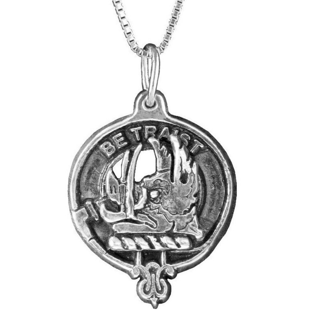 Innes Clan Crest Scottish Pendant