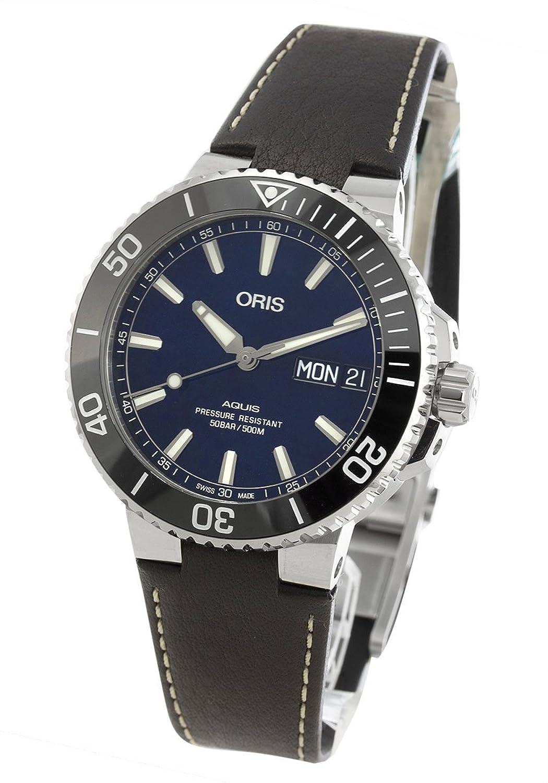 オリス アクイス ビッグデイデイト 500m防水 腕時計 メンズ ORIS 752 7733 4135F[並行輸入品] B07F3TWB5K