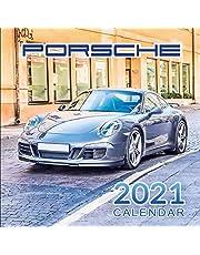 Porsche Calendar 2021: January 2021 through February 2022, Automobile Calendar