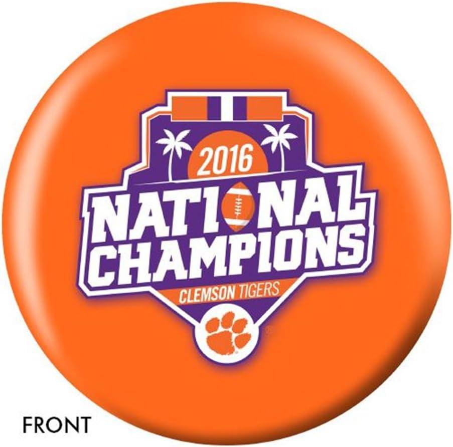 Clemson Tigers 2016 National Championsボーリングボール  12lbs
