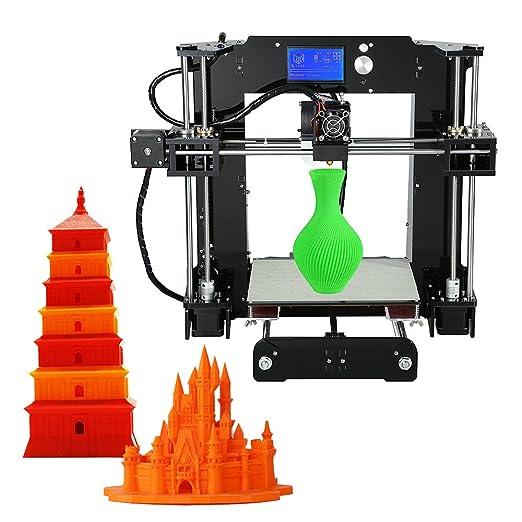 Anet A6 - Kit de impresora 3D de gran precisión para escritorio ...
