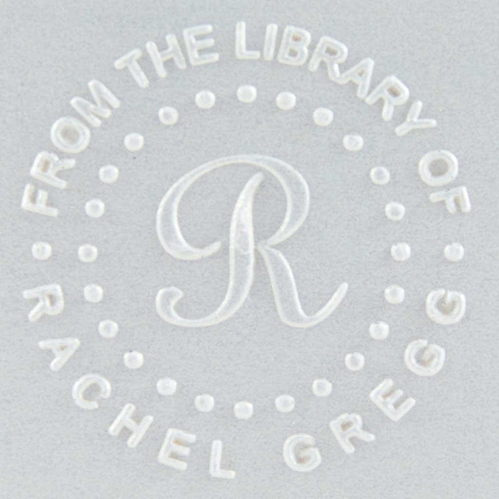 Book Embosser | Library Embosser | Personalized Gift | Custom Embosser Ladd Designs