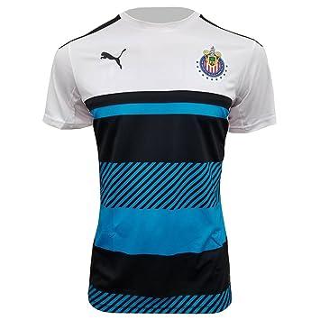 Puma 16/17 Chivas Training Jersey (White/Atomic Blue/Black) (