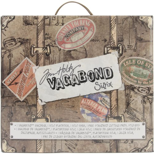 Sizzix 656850 Vagabond Cutting/Embossing Machine, Inspired by Tim Holtz