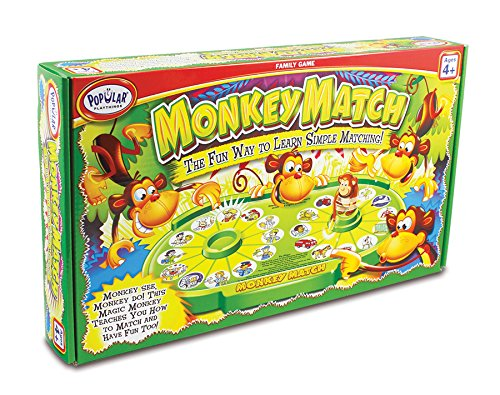 Popular Playthings 50401 Monkey Match product image