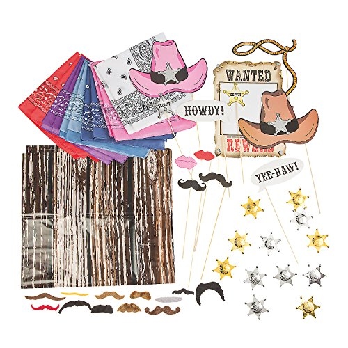 Buy All & Save Western Photo Booth Kit -
