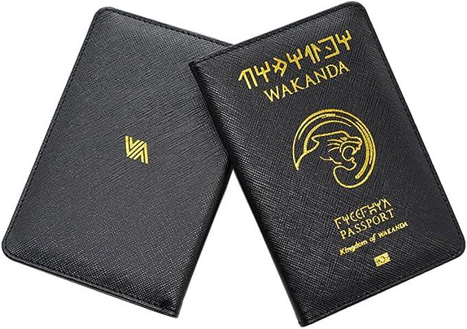 Prot/ège-passeport Passeport Wakanda couvre passeport Housse de protection passeport international panther