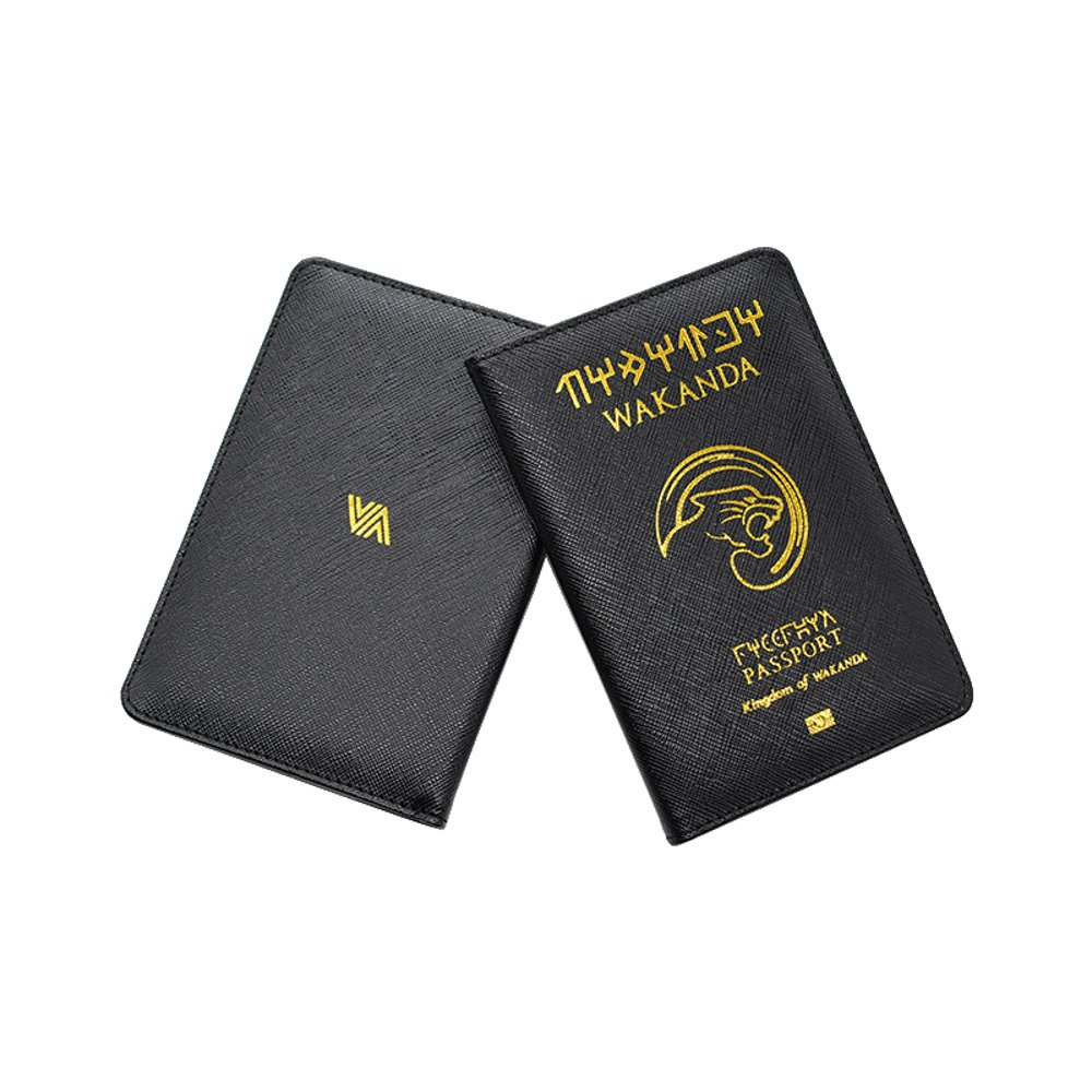 955cc84bdcb8 Passeport Wakanda - Protège-passeport - couvre passeport Housse de protection  passeport international panther  Amazon.fr  Bagages