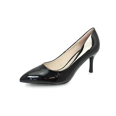 23ac5ce3a5c8 Lunar Petal Pointed Toe Court: Amazon.co.uk: Shoes & Bags