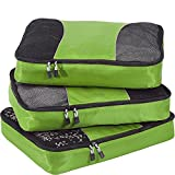 eBags Large Packing Cubes for Travel - 3pc Set - (Grasshopper)