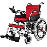 MJY Silla de ruedas eléctrica plegable de doble