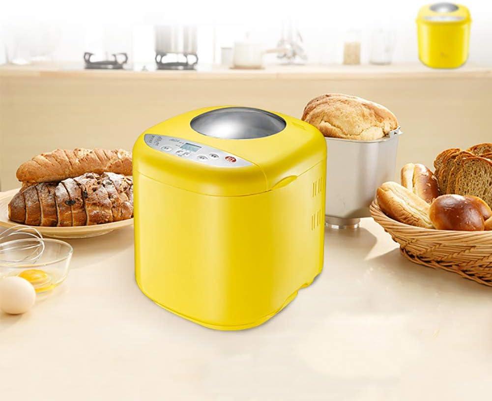 PDXGZ Máquina automática para Hacer Pan Multifuncional con Pantalla LED (10 programas, 3 Colores de Corteza), Utilizado para Pasteles, Pasta, Yogurt, Mermelada, fermentación, horneado: Amazon.es: Deportes y aire libre
