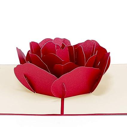 3D Tarjeta de Felicitación Amor Paper Spiritz Tarjetas Pop ...