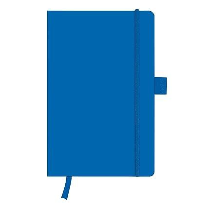Herlitz 11369048 Notizbuch My Book Classic A5 96 Blatt Blanko Blau