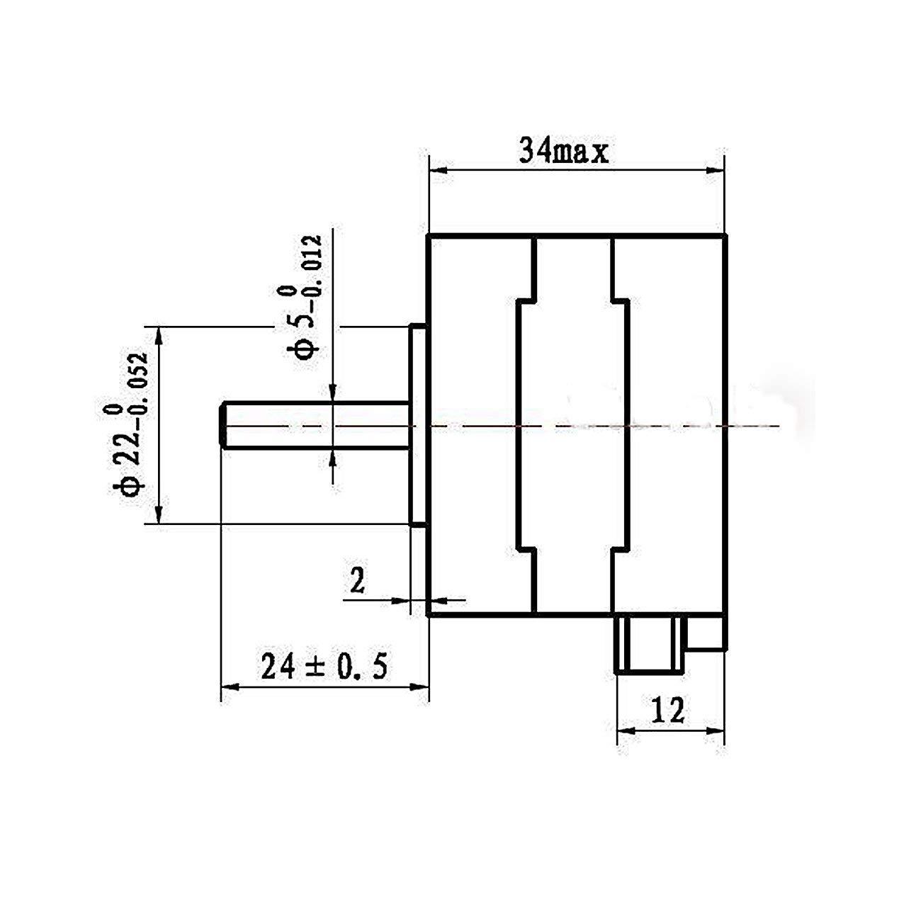 Amazon.com: Stepper Motors NEMA 17 Kit 12V for CNC Reprap 3D Printer on