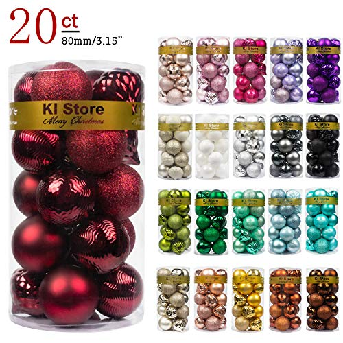 KI Store 20ct Christmas Ball Orn...