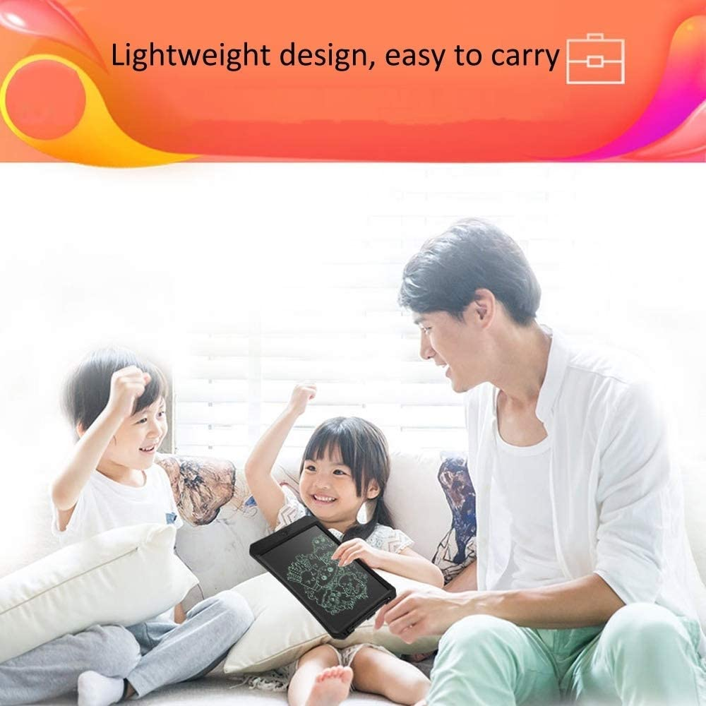 Drawing Accessories 11 inch LCD Monochrome Screen Rough handwriting Writing Tablet High Brightness Handwriting Drawing Sketching Graffiti Scribble Doodle Board for Home Office Writing Drawing Black D