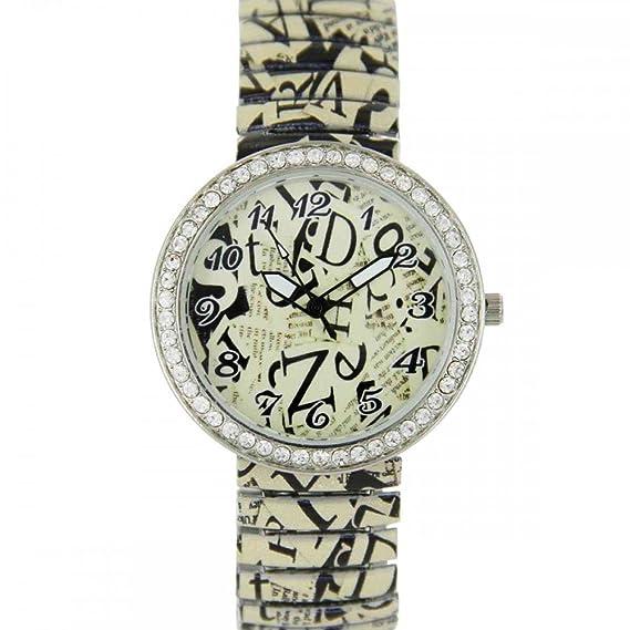 Jolie reloj mujer acero Camellia