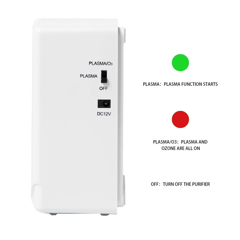 Concise Home Purificador de Aire Plasma Generador De Ozono Ozono ...