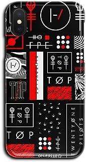 ERQINGT Etui pour Téléphone Portable pour iPhone XS Max Coque pour Téléphone Portable 8Plus Coque Dure 7 Demi-Pack XR Matte 6S Coque De Protection Pomme Noire