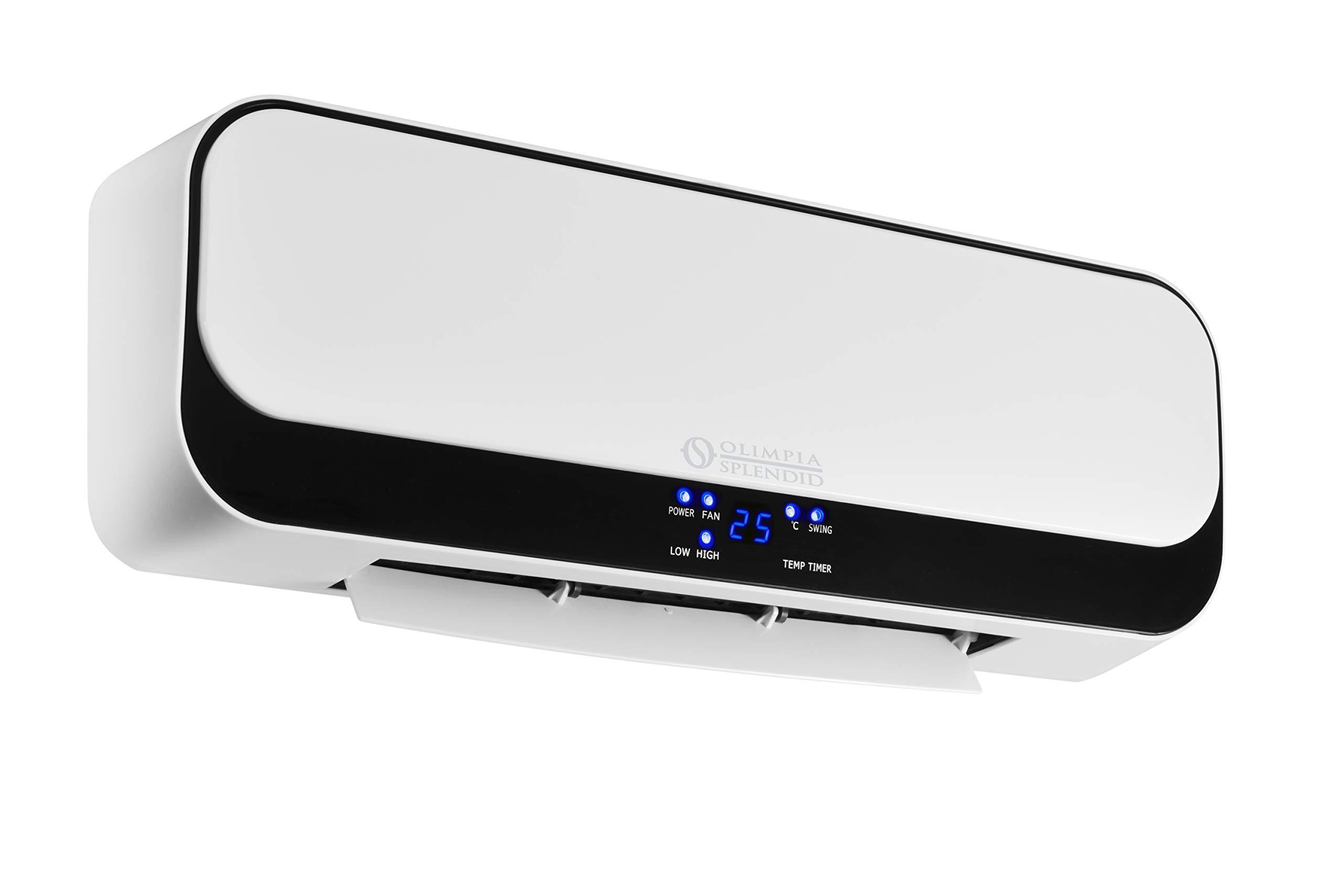 55 W Olimpia Splendid 99426 Purificateur d/'Air avec Lampe UV Germicide Ioniseur et Pr/é-filtre Filtre HEPA Filtre aux Charbons Actifs IPX Aura Di