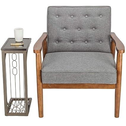 Amazoncom Lounge Chairmodern Lounge Chair Cushion Thick Padded