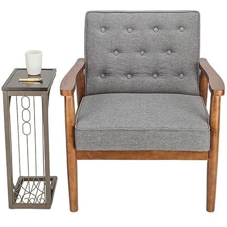 Amazon.com: Lounge Chair,Modern Lounge Chair Cushion Thick ...