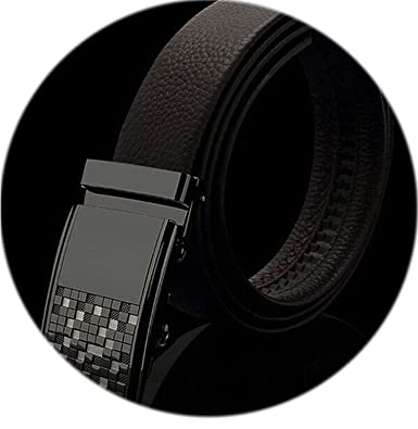 9ecbd7b650 Image Unavailable. Image not available for. Color: Mens Business Fashion Formal  Casual Style Belt Designer Leather Strap ...