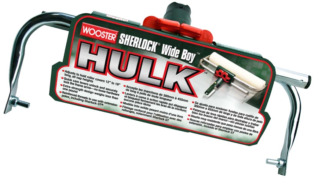 Wooster Brush BR047-18 Sherlock Wideboy Hulk Adjustable Frame, 18-Inch