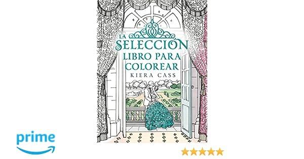 La selección. Libro para colorear (Roca Juvenil): Amazon.es: Kiera ...