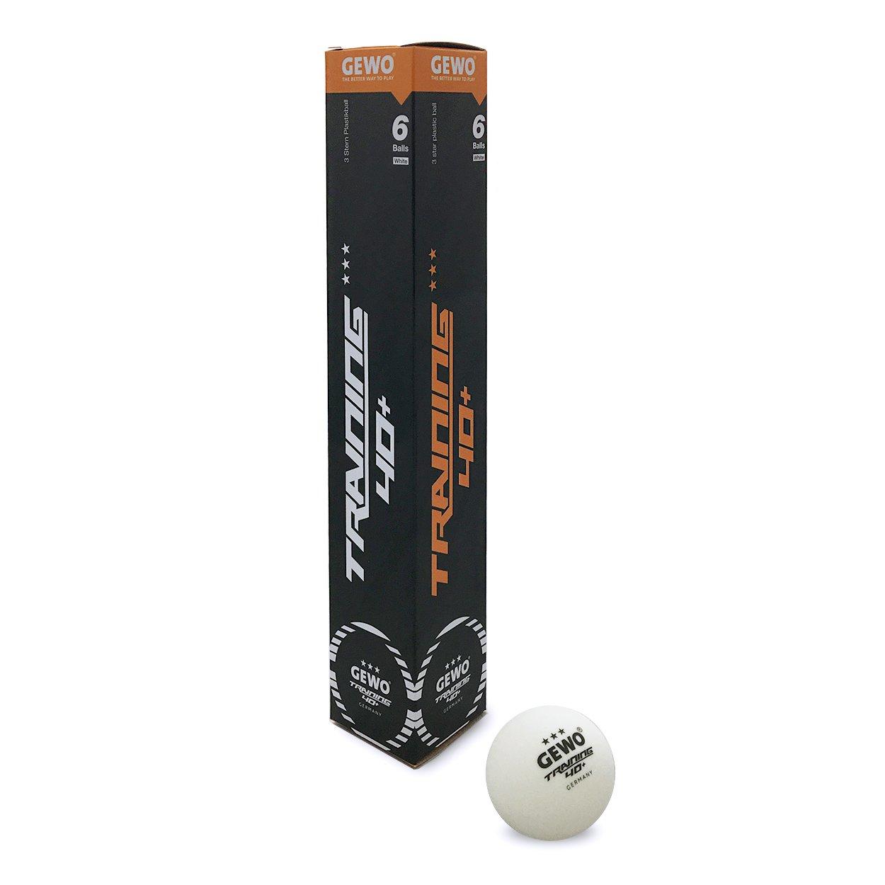 GEWO Trainingsball *** 40+ 6er Weiß GEWO6|#GEWO 85921200