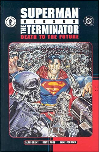Image result for SUPERMAN VS. THE TERMINATOR
