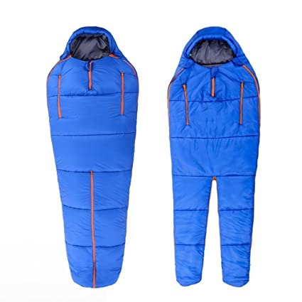 ZXQZ Saco de dormir Humanoid Sleeping Bag Adult Outdoor Travel Camping Ultra Light Saco de dormir