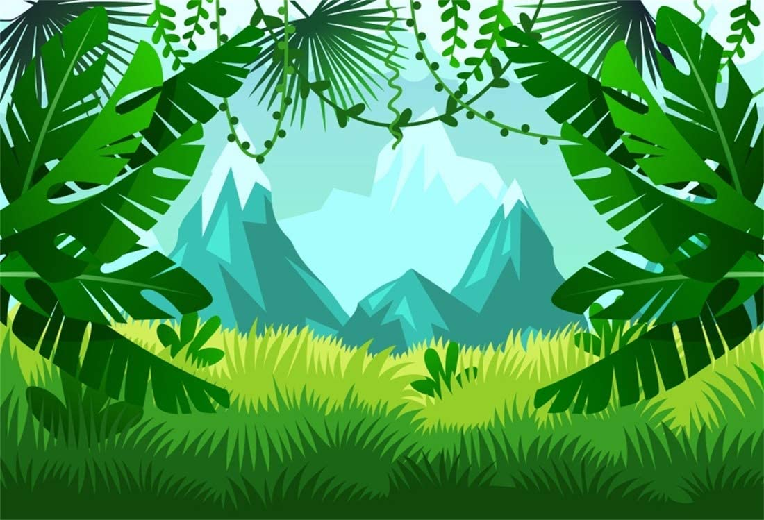Amazon Com Yeele 10x7ft Tropical Photography Background Palm Leaves Forest Jungle Anime Comic Painting Summer Party Photo Backdrops Portrait Shooting Studio Props Camera Photo Tropical rainforest, luxuriant forest found in wet tropical uplands and lowlands near the equator. yeele 10x7ft tropical photography background palm leaves forest jungle anime comic painting summer party photo backdrops portrait shooting studio