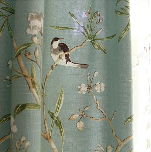 Blue Country Curtains - the best window curtain panel for the money